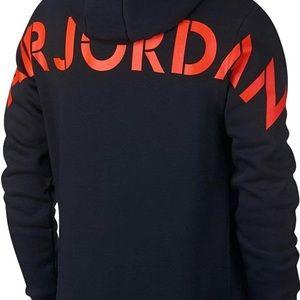 Mens Jordan Jumpman Fleece AJ5 Full Zip XL